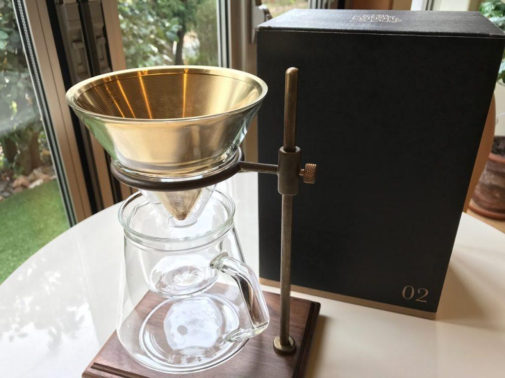キントー SLOW COFFEE STYLE SPECIALTY 02 ブリューワースタンドセット 4cups