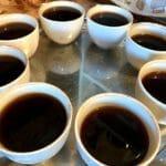 コーヒーのテイスティング